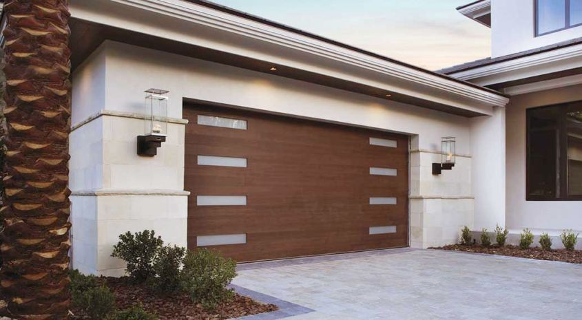 locked garage door